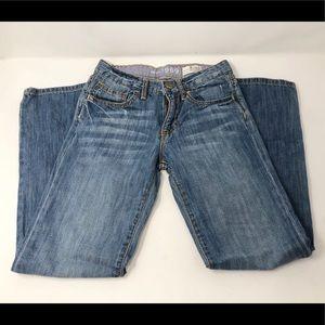 Gap Kids 1969 Blue Jeans size 3 reg Boyfriend